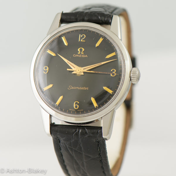 OMEGA  SEAMASTER Vintage Watch.     SOLD OUT Vintage Watches - Ashton-Blakey Vintage Watches