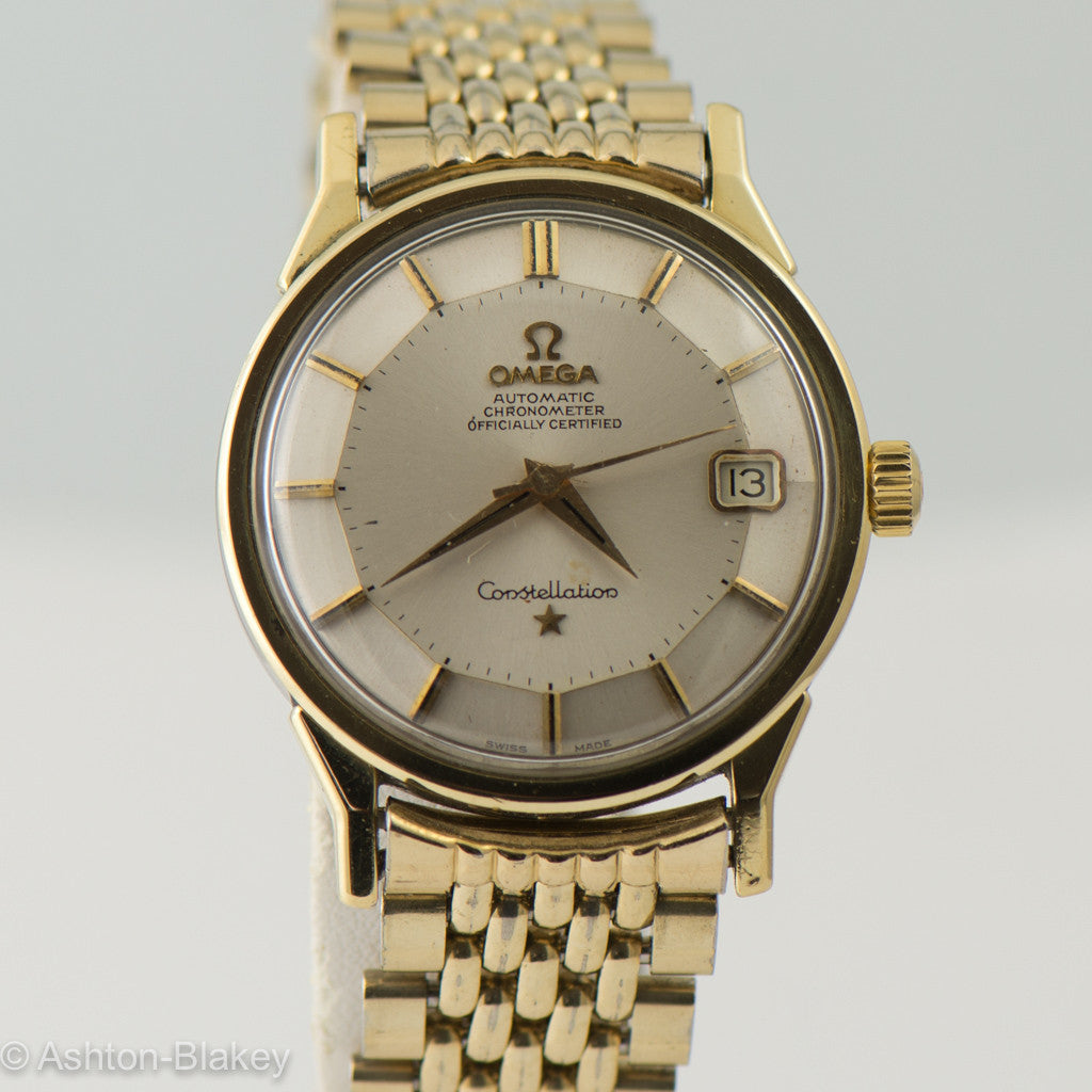 OMEGA  Constellation Pie Pan Vintage Watch