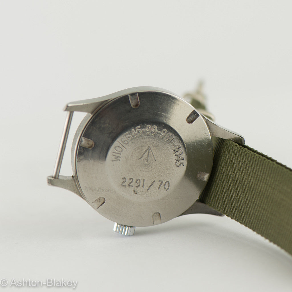 SMITHS  BRITISH  MILITARY Vintage Watch Vintage Watches - Ashton-Blakey Vintage Watches