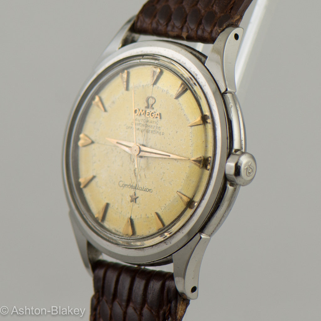 OMEGA Constellation Pie Pan Vintage Watch Vintage Watches - Ashton-Blakey Vintage Watches