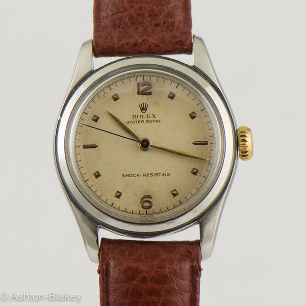 ROLEX Oyster Royal Vintage Watch Vintage Watches - Ashton-Blakey Vintage Watches