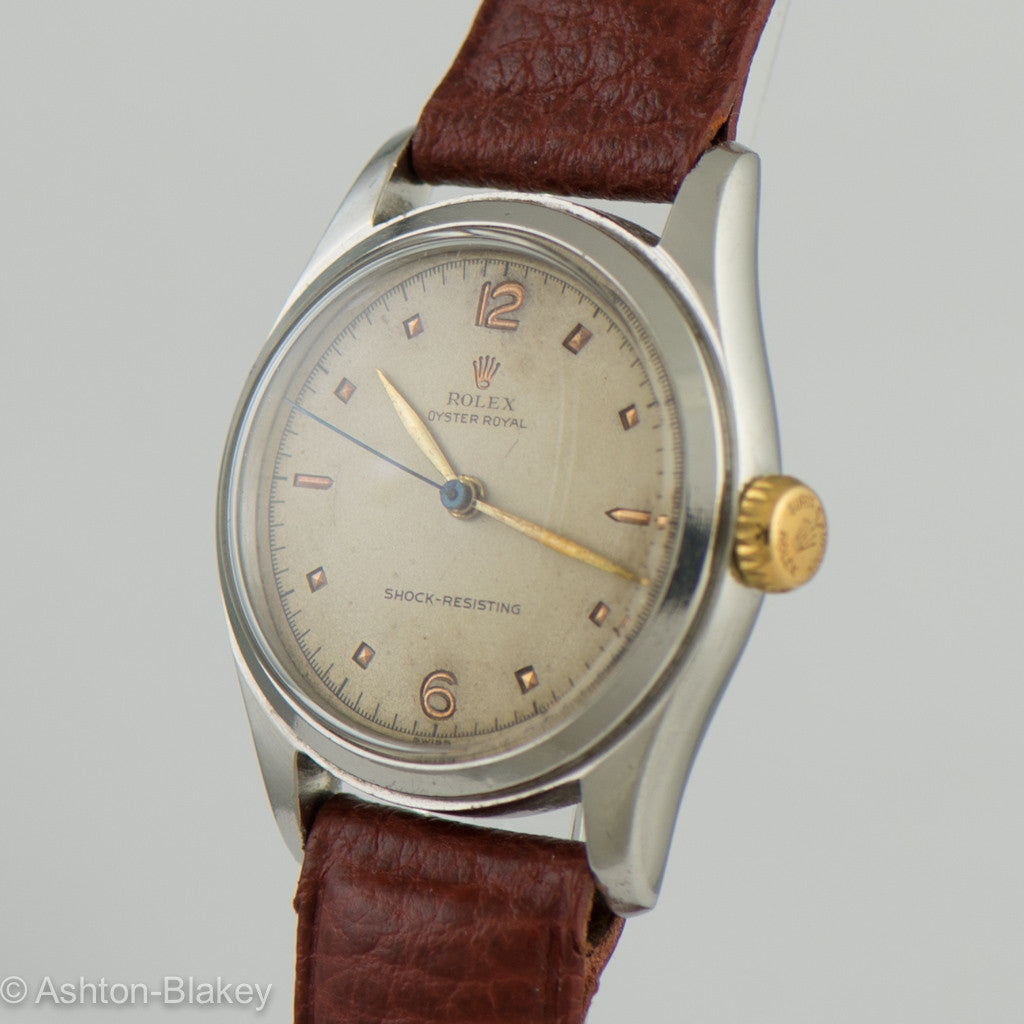 ROLEX Oyster Royal Vintage Watch Wrist Watches - Ashton-Blakey Vintage Watches