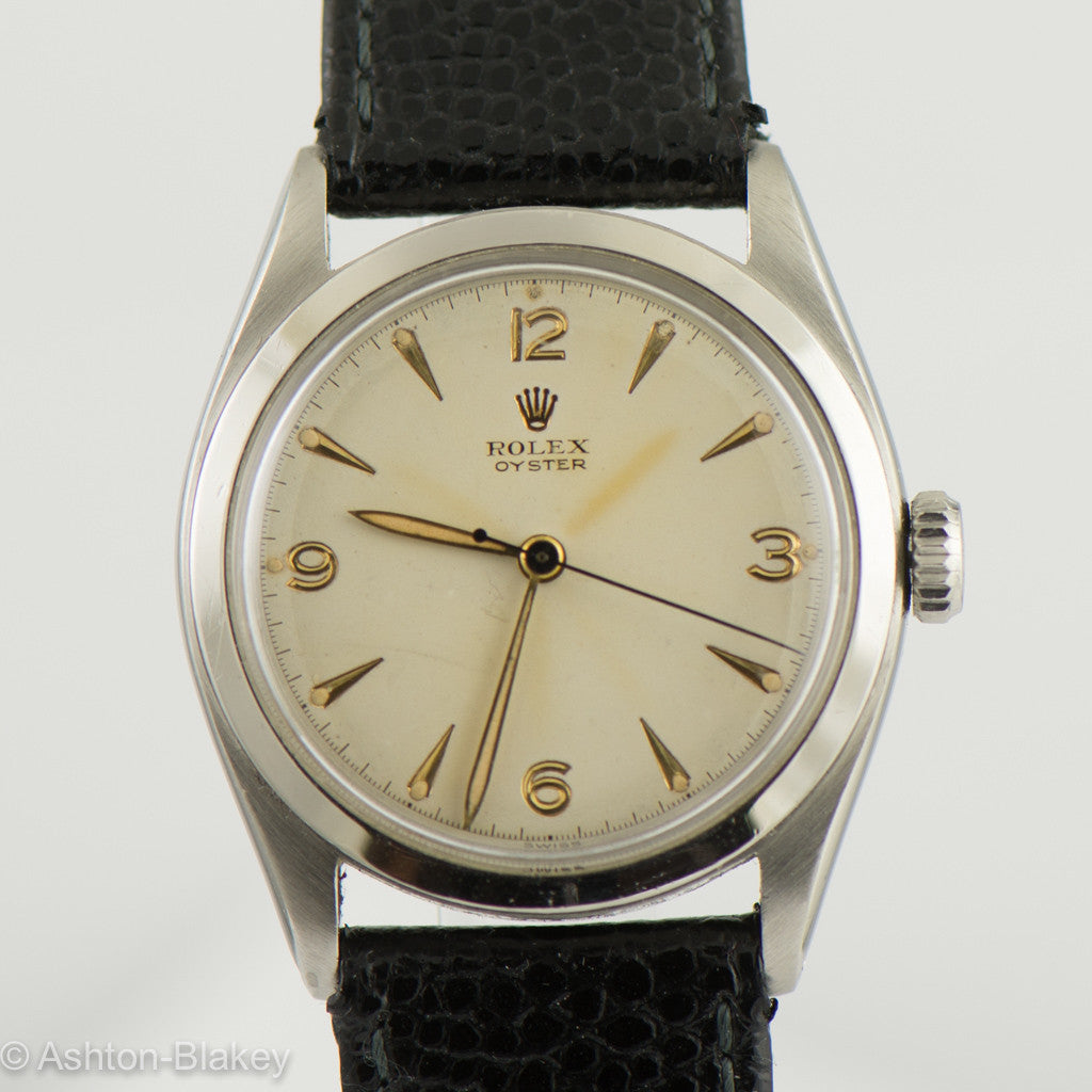 ROLEX Oyster stainless steel  Vintage Watch