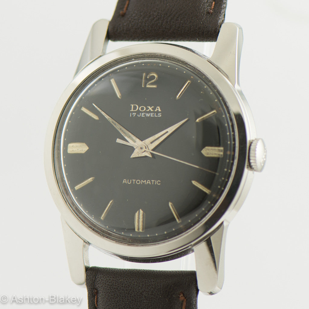 DOXA  MILITARY vintage  watch Vintage Watches - Ashton-Blakey Vintage Watches