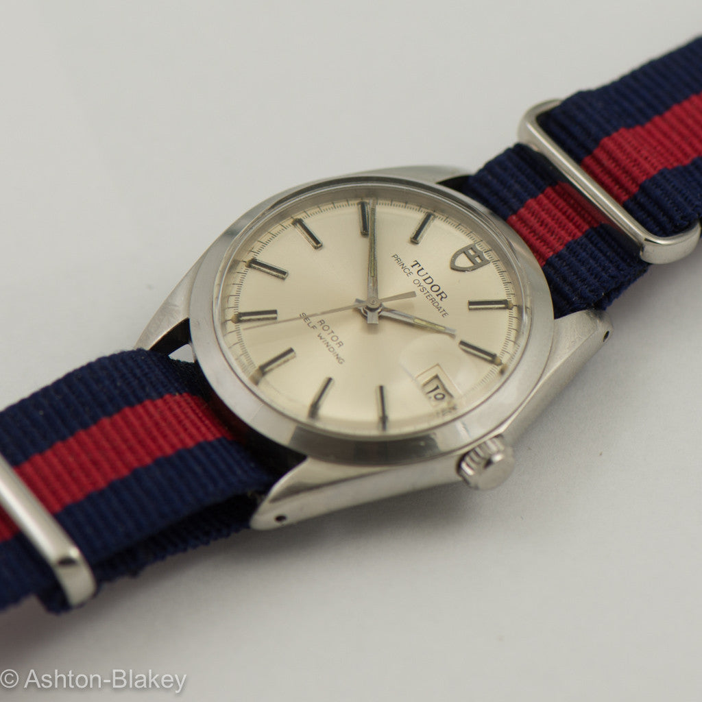 TUDOR PRINCE OYSTERDATE -By Rolex Stainless Steel Vintage Watch Wrist Watches - Ashton-Blakey Vintage Watches