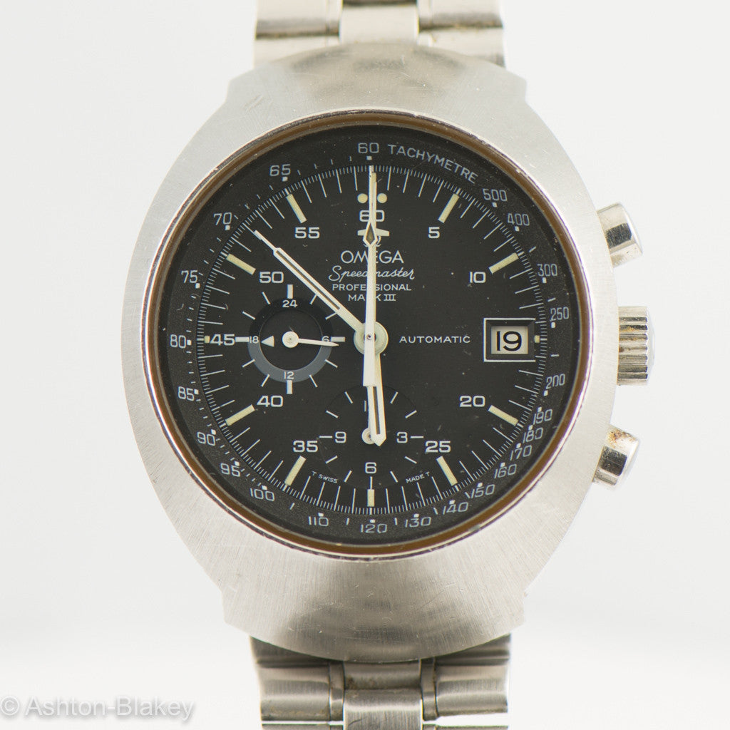 OMEGA SPEEDMASTER PROFESSIONAL Mark III Vintage Watches - Ashton-Blakey Vintage Watches