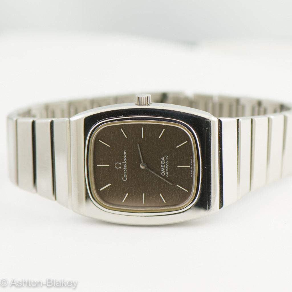 OMEGA men's Constellation  Vintage Watch Vintage Watches - Ashton-Blakey Vintage Watches