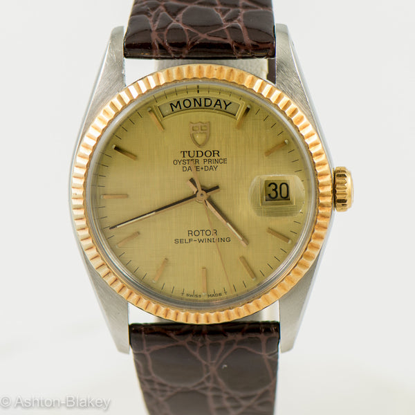 TUDOR Oyster Prince Day Date by Rolex Vintage Watches - Ashton-Blakey Vintage Watches