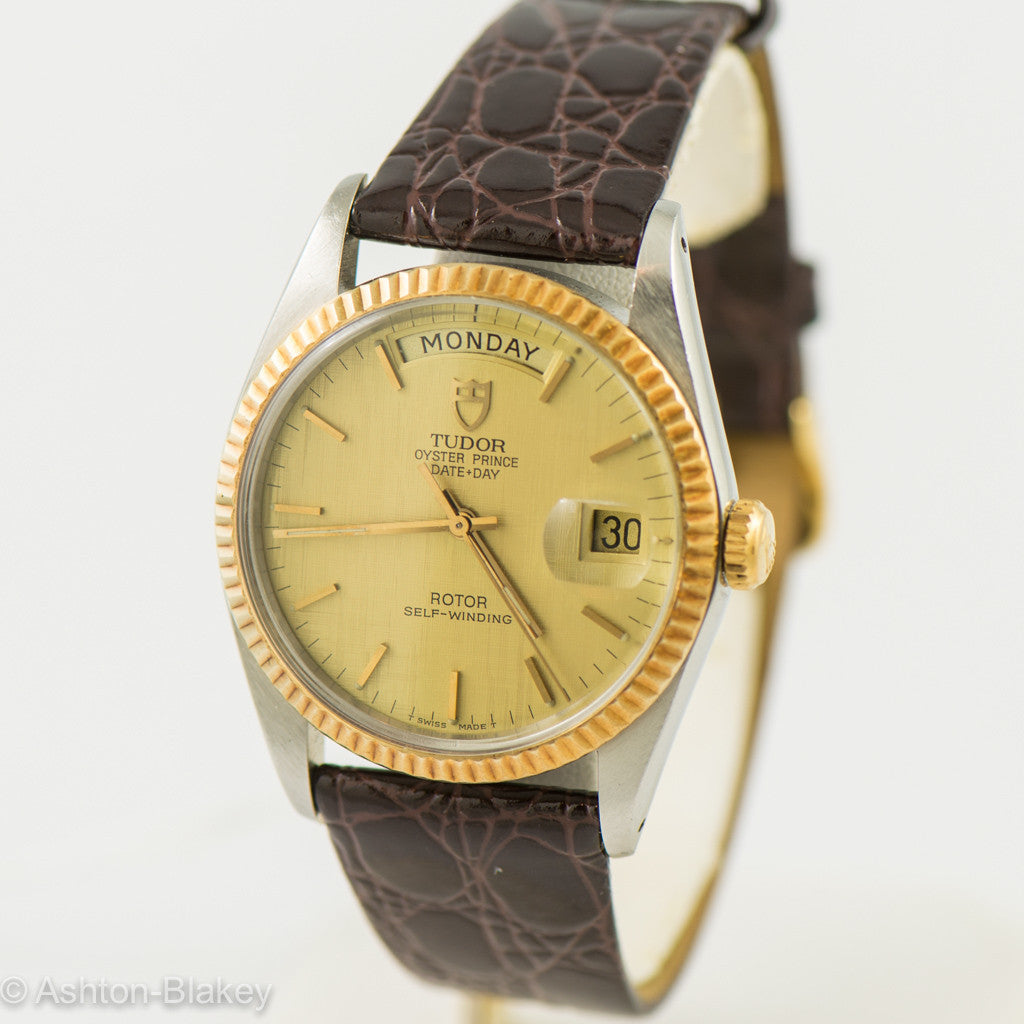 TUDOR Oyster Prince Day Date by Rolex Wrist Watches - Ashton-Blakey Vintage Watches