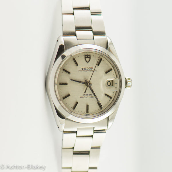 TUDOR PRINCE OYSTERDATE BY ROLEX Vintage Watches - Ashton-Blakey Vintage Watches