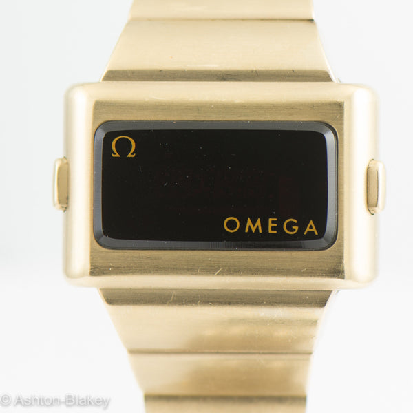 Vintage Omega LED Watch