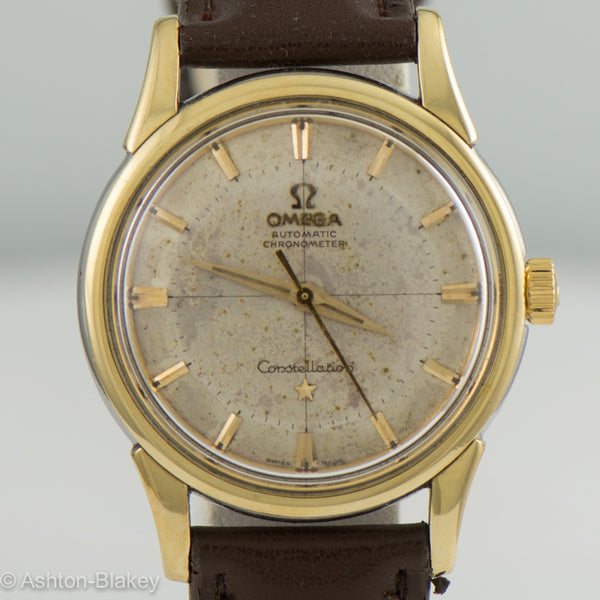 Omega Constellation - Pie Pan Vintage Watches - Ashton-Blakey Vintage Watches