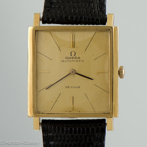 OMEGA solid 18K Deville Vintage watch