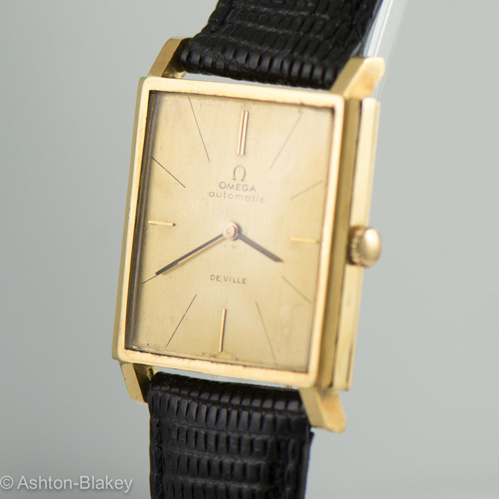 OMEGA solid 18K De Ville Vintage watch Vintage Watches - Ashton-Blakey Vintage Watches