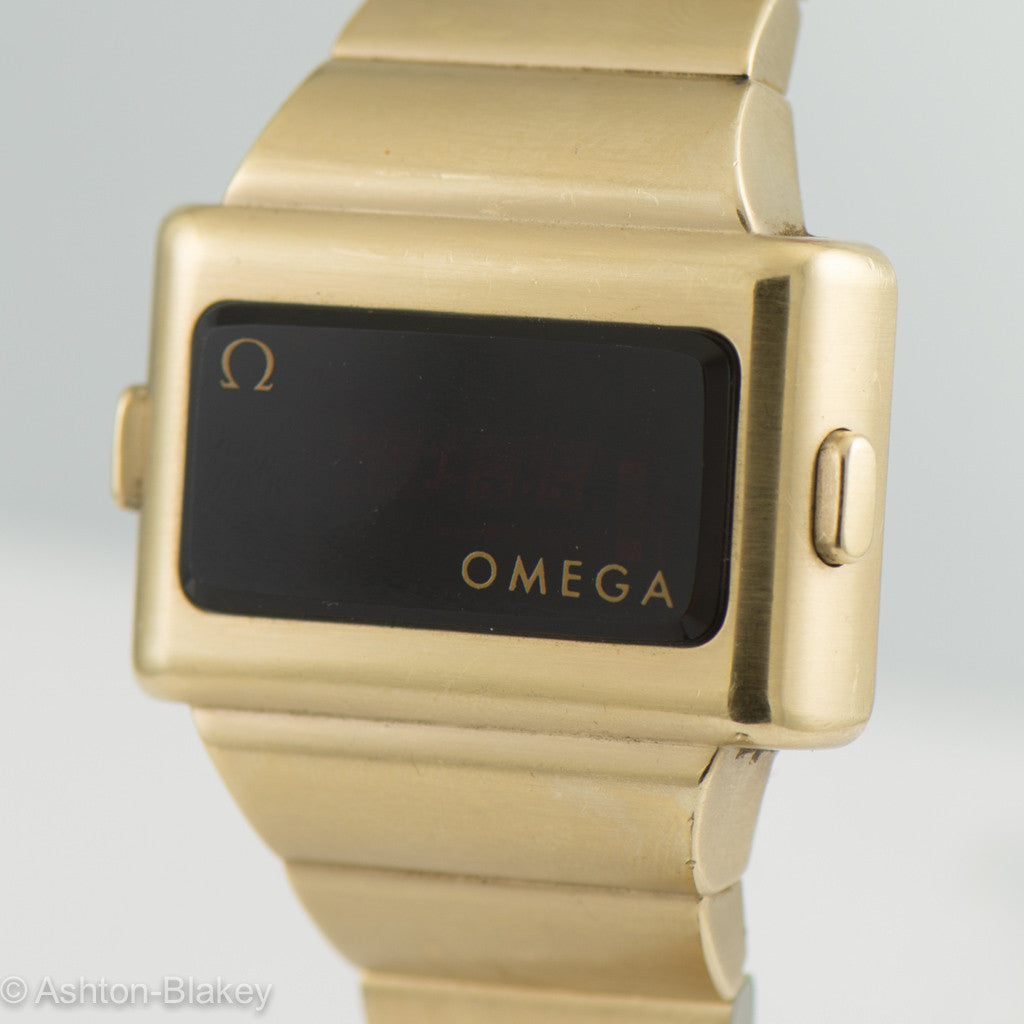 OMEGA TIME COMPUTER  TC2 Vintage LED Watch Wrist Watches - Ashton-Blakey Vintage Watches