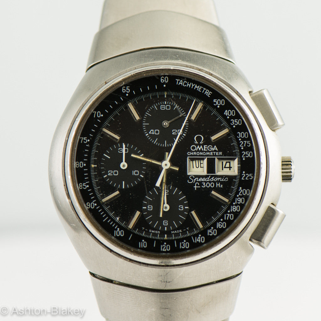 OMEGA SPEEDSONIC f300 HZ CHRONOMETER CHRONOGRAPH Vintage Watches - Ashton-Blakey Vintage Watches