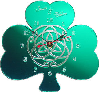 Celtic Knot Circle of Love Clock