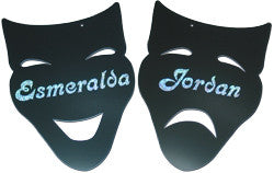 Drama Masks Wall Mirror