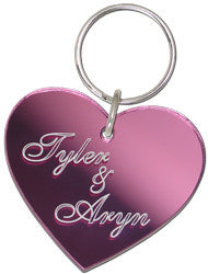 Heart Keyring Large