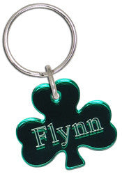 Shamrock Keyring Small