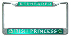 Irish License Plate Frame Custom