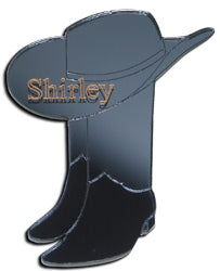 Cowboy Hat and Boots Magnet