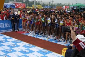 3rd Successful chip timing service in Xiaman International Marathon