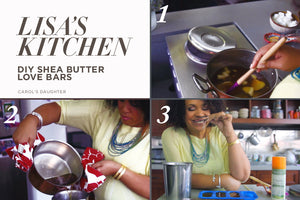 "Video:  Do-It-Yourself Shea Butter ""Love Bars"""