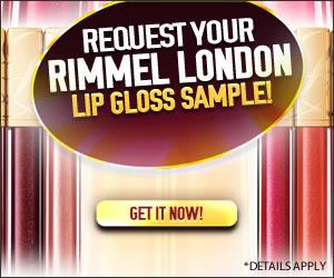 Rimmel London Lip Gloss Sample