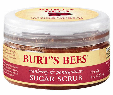 Burt's Bees Cranberry & Pomegranate Sugar Scrub