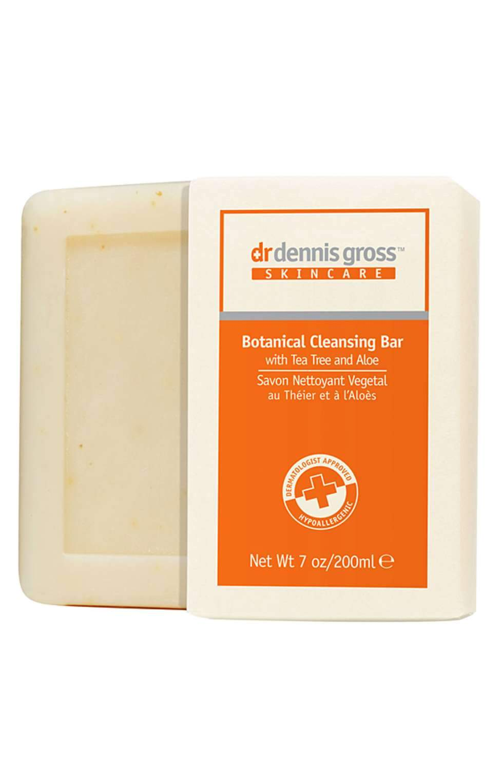 Dr. Dennis Gross Skincare Botanical Cleansing Bar With Tea Tree & Aloe