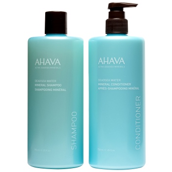 Ahava Mineral Shampoo & Conditioner Duo