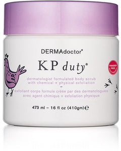 DERMAdoctor KP Duty Dermatologist Body Scrub with Chemical + Physical Medi-exfoliation