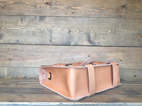 The Aviator Satchel - Honey