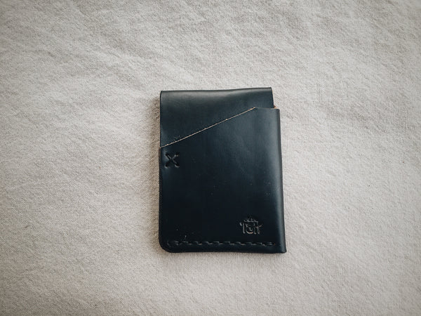 The Front Pocket Cardholder - Black