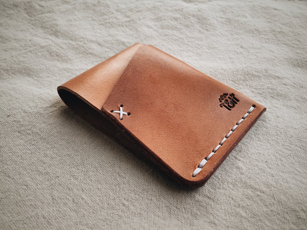 The Front Pocket Cardholder - Honey