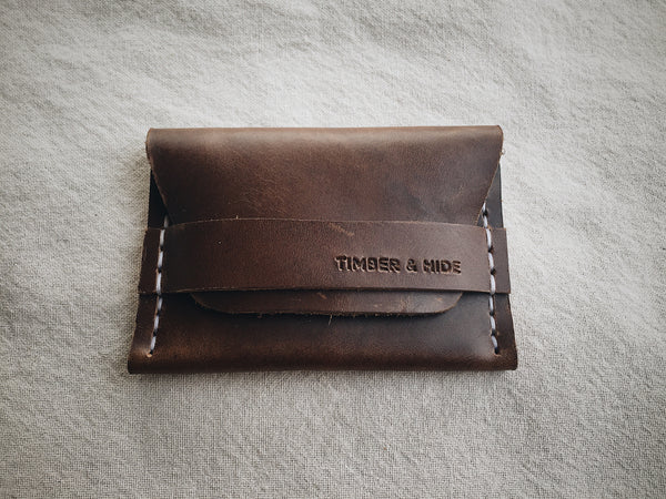 The Alderson Cardholder - Brown Sugar