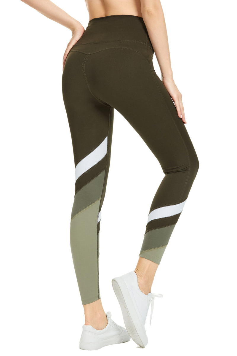 Women Workout Leggings High Waisted Buttery Soft Yoga Pants Tights Running-90307