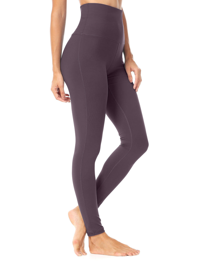 Women Yoga Legging Power Flex High Waist Tummy Control Running Workout Tights