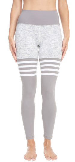 Women Yoga Leggings Knee-high Sock Pants Workout Running Tights - Queenie Ke