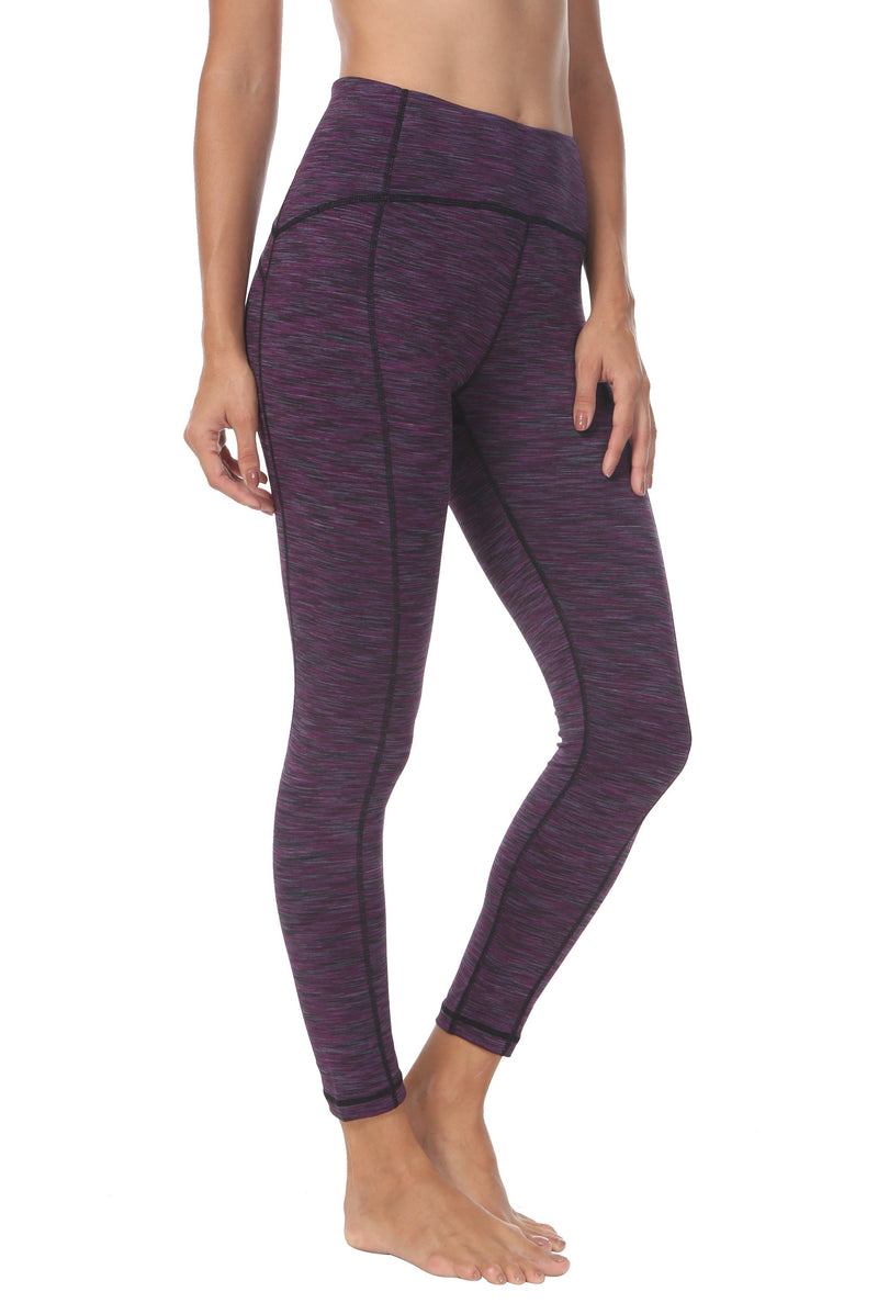 Women  Ninth Power Flex High Waist Gym Running Tights - Queenie Ke