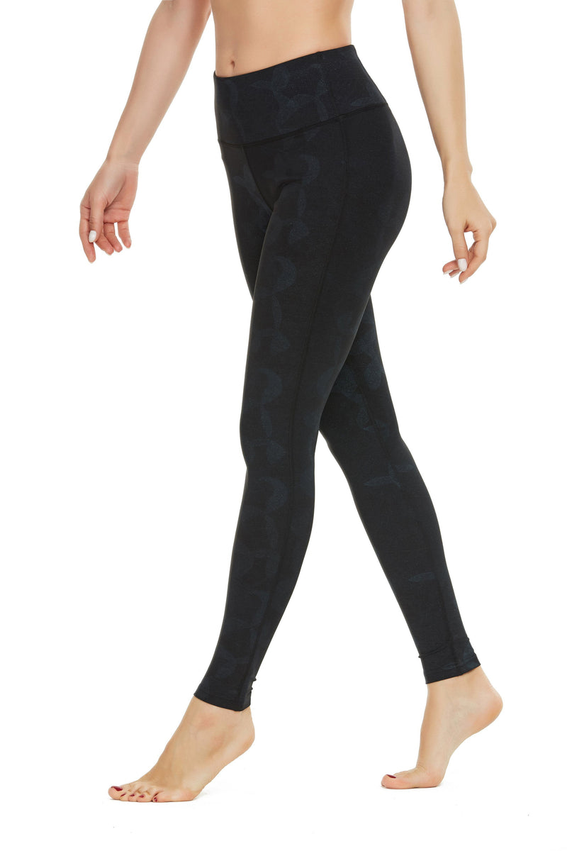 Women Mid Waist Tummy Control Yoga Pants Workout Running Tights Plus Size Sport leggings 60126-NEW RELEASE