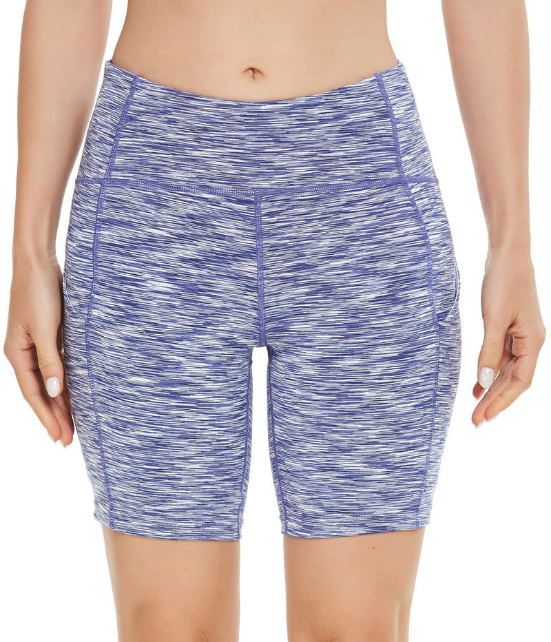 Womens 3 Side Pockets Workout Running & Training Shorts - 70822-NEW RELEASE