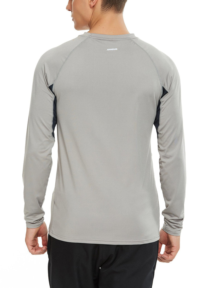 Men Premium Running Outdoor Long Sleeve Performance Athletic Workout Shirt -20524 NEW RELEASE