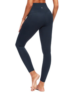 Women High Waist Yoga Pants with Pocket Tummy Control Running Tights for Gym Fitness-60129B