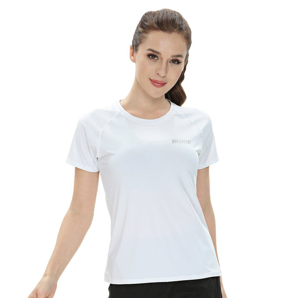 Sports T-Shirt Breathable Yoga Short Sleeves Tee Running Top for Women 19105-New-Release
