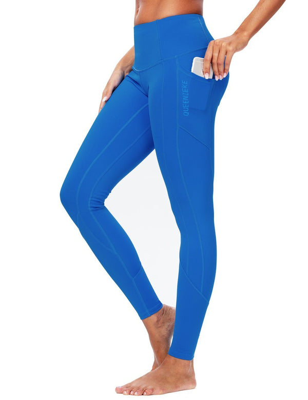Women Workout Leggings Sports Pants Zoned Compression Running Tights 90824  NEW RELEASES