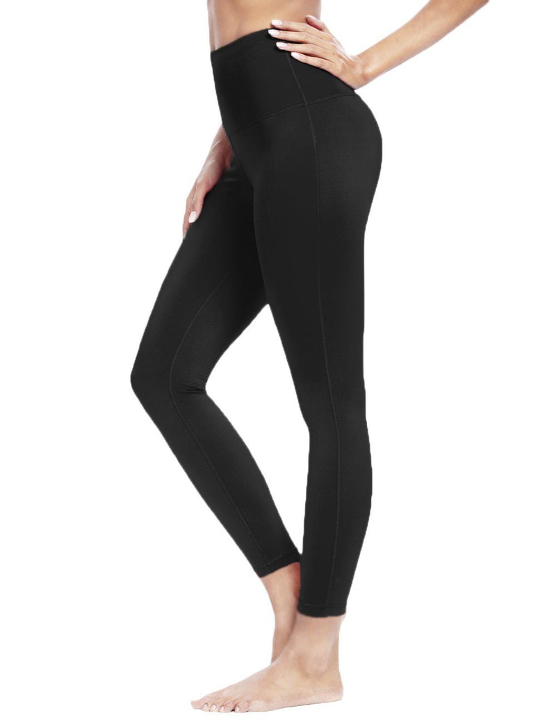 Women Seamless High Waist Yoga Pants with Pocket Tummy Control Running Tights for Gym Fitness-60129B-New Release