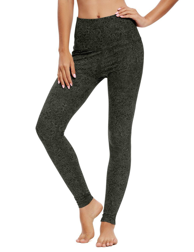 Women Yoga Legging Running High Waist Pants Workout Tights 60129-New Release