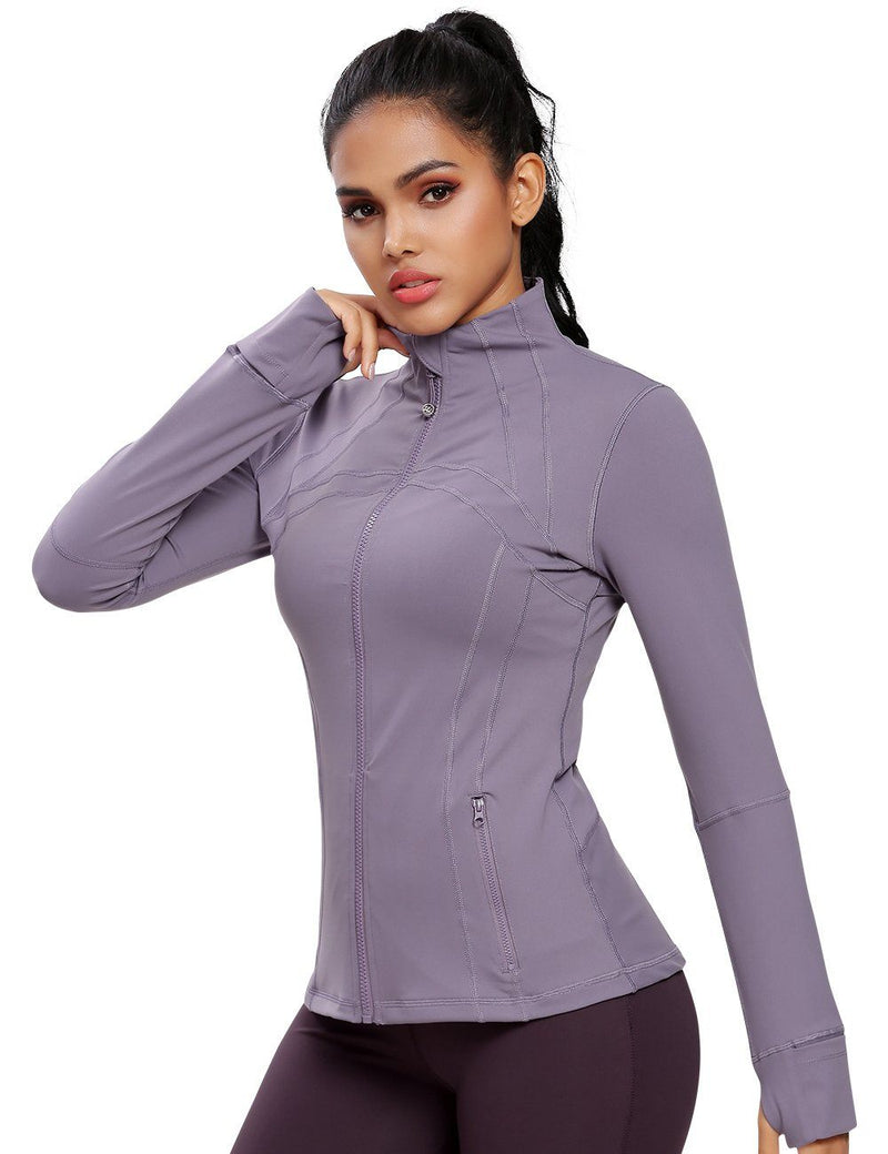 Women's Sports Define Jacket Slim Fit and Cottony-Soft Handfeel -60927